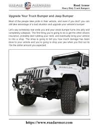 100 Replacement Truck Bumpers Upgrade Your Bumper And Jeep Bumper By Road Armor Issuu