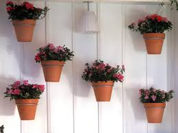 Wall Hanging Flower Pots Mounted Garden
