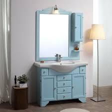 badeschrank style shabby chic decape blau lavendeb cm 105