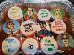 The Office Cupcakes