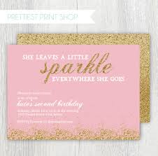 Pink And Gold Birthday Themes by Pink And Gold Birthday Invitations Alanarasbach Com
