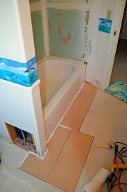 Tiling A Bathroom Floor Around A Toilet by One Thing Leads To Another Mostly Diy Bathroom Repair And