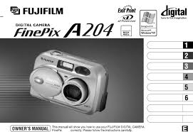 fuji chair manual fujifilm digital a204 user guide manualsonline