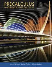 Precalculus Mathematics For Calculus By Lothar Redlin James Stewart And