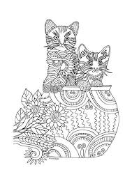 465 Best Just Cats Coloring 2 Images On Pinterest