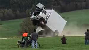 Driver Seriously Injured In Truck Barrier Crash Test Gone Bad - The ... Download Monster Wheels Kings Of Crash For Android Bigfoot Vs Usa1 The Birth Truck Madness History Trucks In Bendigo With Tricks Planned For Weekend Show Huge 3d Batman Crashing Through Wall View Wall Sticker How Much Does A Driver Make Year Fortunelost Crashing Another Car Monster Truck Extreme Stunt Beamng Drive Archives Cars Bikes Trucks And Engines Videos Of Best Image Kusaboshicom Beamng Crashes Crushing Cars Jumps Fails 3 Videos 28 Images Jam Anaheim