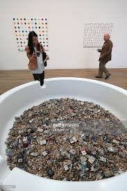 tate modern launch the damien hirst retrospective photos and