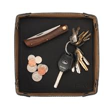 Mens Leather Dresser Valet by Genuine Leather Valet Tray