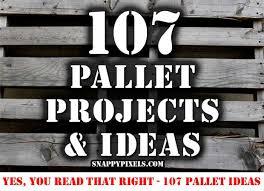 107 Pallet Project Ideas