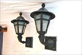 wall mounted exterior lights size of black outside light