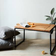 An Easy Pipe Side Table Theyll Never Guess You Made Yourself