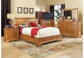 Rooms To Go Queen Bedroom Sets by Shop For A Whitmore Pine Platform 5 Pc Queen Bedroom At Rooms To
