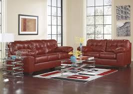 Living Room Alliston DuraBlend Salsa Sofa LoveseatSignature Design By Ashley