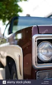 Front Of A 1979 GMC C25 Sierra Classic Truck Stock Photo: 43624053 ... All American Classic Cars 1979 Gmc 2500 High Sierra Pickup Truck 3500 Camper Special Pickup Truck I Topkick C7500 Car Brochures Chevrolet And Chevy Plow Trucks Brigadier Flatbed Item Dv9517 Sold Decem 7000 Grain Truck 35 Fire Da2895 November Gmc Jimmy Mechanical Damage Tkr189z524463 Sold 1500 Hd For Sale Classiccarscom Cc1037332