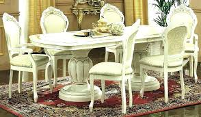 Italian Dining Room Set Furniture With 6 Chairs