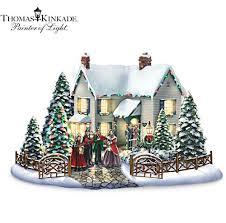 Thomas Kinkade Christmas Tree For Sale by Thomas Kinkade Christmas Village