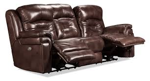 Southern Motion Reclining Sofa Power Headrest by Mystify Power Reclining Sofa Brown Levin Furniture