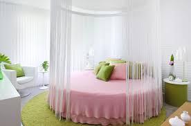 colin and justin s design revolves around circular bed