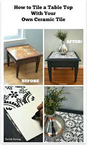 slate tile dining room table end harbor top home styles
