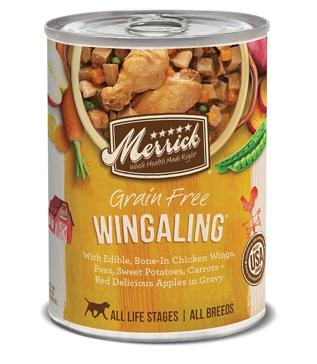 Merrick Grain-Free Wingaling Canned Dog Food 13.2oz