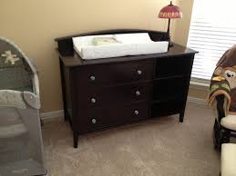Graco Lauren Espresso Dresser by Table Picturesque Crib Dresser Changing Table All In One Creative