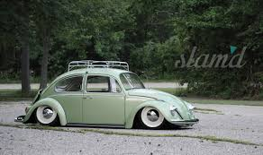 BrownBag's Slammed 1967 VW Beetle – Slam'd Mag