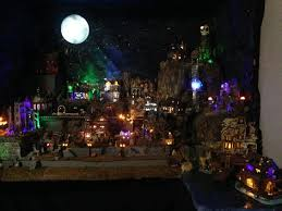Lemax Halloween Village Displays by Get More Creative With My Halloween Village Halloween