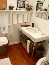 Bathroom Shelf With Towel Bar Wood by 7 Creative Uses For Towel Racks Towels Organizations And