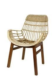 b ware rattanstuhl korb stuhl retro sessel lounge loft bistro balkon terrasse
