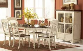 Ohana 1393w 78 Dining Table By Homelegance W Options Rh Furnituredepot Com Two Toned Room