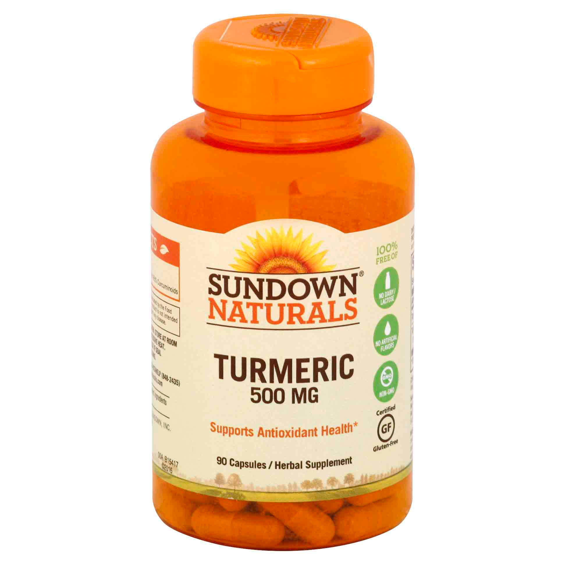 Sundown Naturals Turmeric Extract - 450mg, 90 Capsules