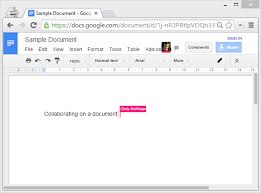 Collaborate On A Document With Google Docs