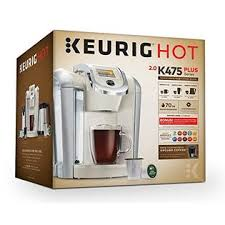 Keurig K475 Single Serve K Cup Pod Coffee Maker With 12oz Brew Size