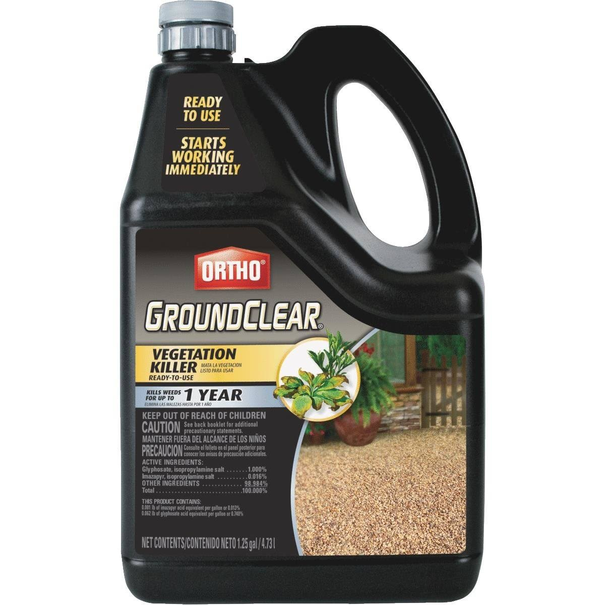 Scotts Ortho Round Up Ground Clear Killer Weed - 1.25gal