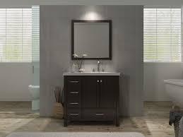 60 Inch Bathroom Vanity Single Sink Canada by Ace Cambridge 37 Inch Single Sink Bathroom Vanity Set Right
