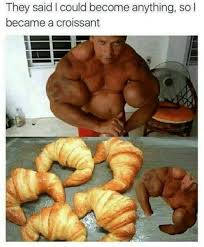They Said I Could Become Anything So Became A Croissant