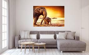 elefant safari afrika savanne poster p0113