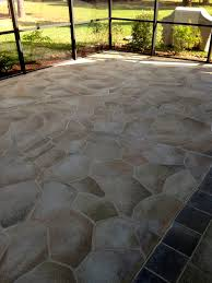 Painting Concrete Patio Tiles
