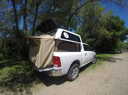 Pickup Truck Tent Camper Conversion