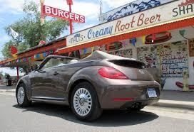 Route 66 Test Drive: 2015 Volkswagen Beetle Convertible ...