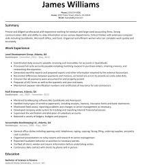 Bookkeeper Resume Sample Resumelift Throughout Examples