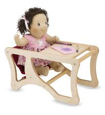 Little Colorado Wooden Combi-Chair Is A Doll's Highchair And Desk In ... Star Bright Doll High Chair Wooden Dollhouse Kitchen Fniture 796520353077 Ebay Childcare The Pod Universal Dolls House Miniature Accessory Room Best High Chairs For Your Baby And Older Kids Highchair With Tray Antilop Silvercolour White Set Of Pink White Rocking Cradle Cot Bed Matching Feeding Toy Waldorf Toys Natural Twin Twin Chair Oueat Duo Guangzhou Hongda Craft Co Ltd Diy Mini Kit Melissa Doug 9382