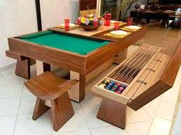 Dining Room Pool Table Combo Cheap With Photo Of Creative