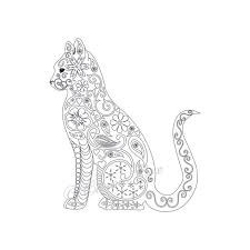 Cat Coloring Pages For Adults To Print