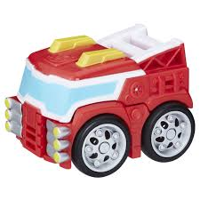 100 Rescue Bots Fire Truck Transformers Flip Racers HEATWAVE The Bot