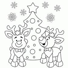 Awesome Reindeer Printable Coloring Pages For Christmas