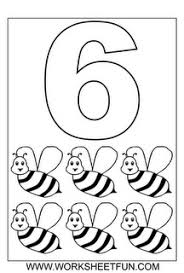 Number Six And Wasp Coloring Pages