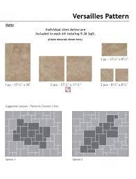 buy villa grigio versailles pattern glazed porcelain 9 36 sq ft