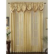 Priscilla Curtains With Attached Valance by Window Treatments Curtains Draperies Seventh Avenue