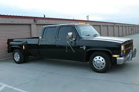 All Blacked Out 1984 Chevrolet C30 Silverado Crew Cab Pickup Dually ...